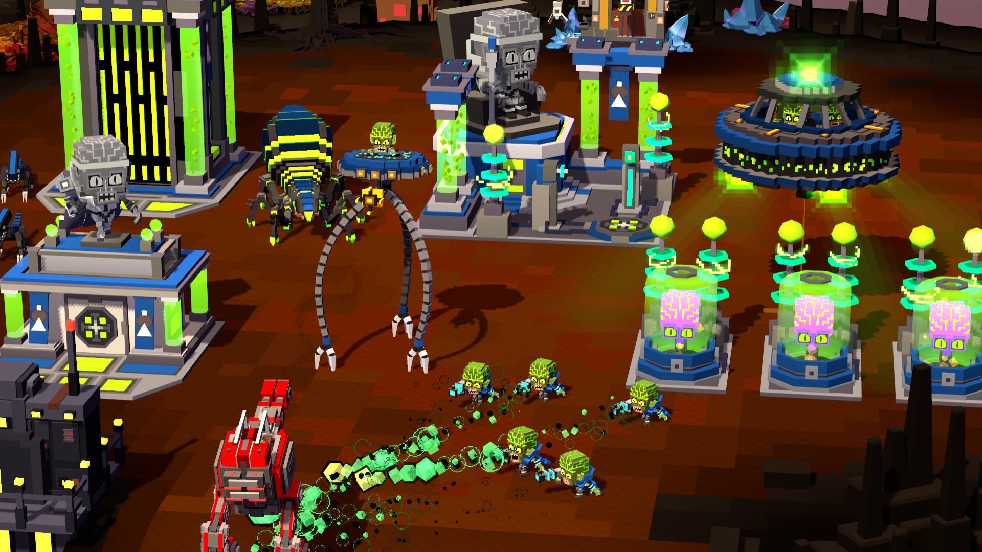 8-Bit invaders! game review screenshot