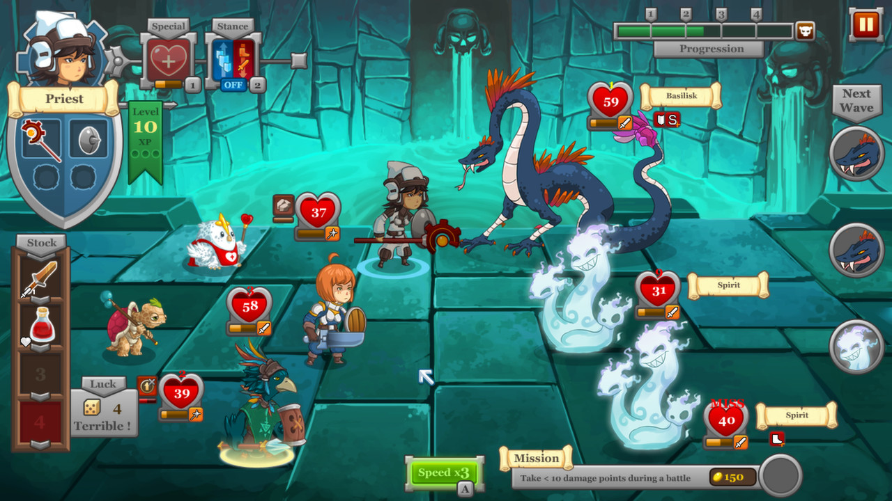 QuestRun game review screenshot