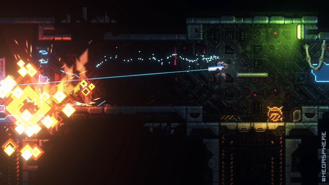 MegaSphere - Indie Game Reviews 2017 Steam Screenshot